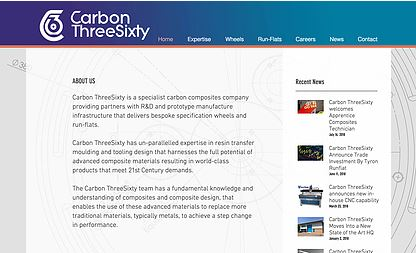 New Carbon ThreeSixty Website Goes Live