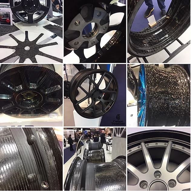 Carbon ThreeSixty Displays Carbon Hybrid Wheel at JEC World 2019