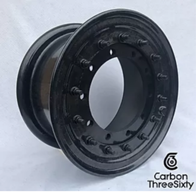 Carbon ThreeSixty and Tyron Runflat Launch All-Composite Wheel at Eurosatory 2018